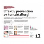 Poster Effektiv prevention av kontaktallergier