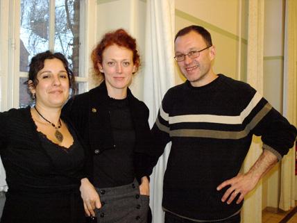 Elia Psouni, Maria Christensson och Martin Garwicz