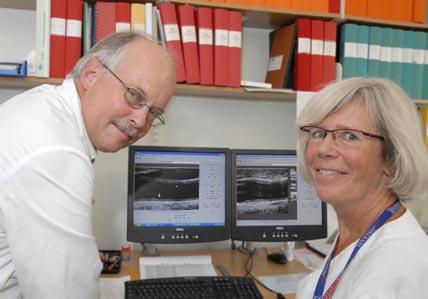 Ultraljudsundersökning av blodkärl