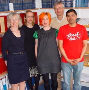 Kristina Åkessons forskargrupp
