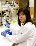 Jenny Liao Persson forskar om nytt läkemedel mot prostatacancer