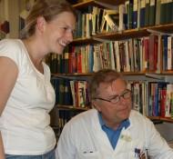 Maria Wahlbom och Anders Grubb