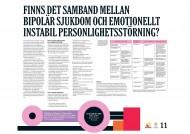 Poster från Forskningens dag 2010 om borderline