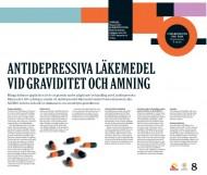 Poster från Forskningens dag 2010 - Antidepressiva läkemedel vid graviditet och amning