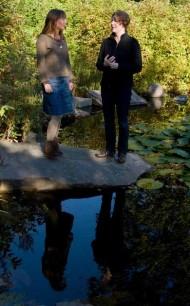 Sjukgymnasten Anna Johnsson och psykologen Maria Hellbom