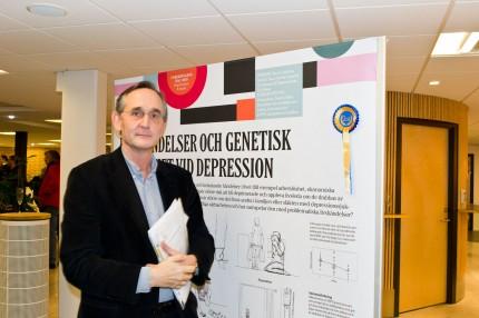 Mats Lindström postervinnare vid Forskningens dag 2010