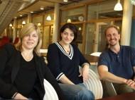 Malin Fex, Sabina Resic Lindehammer, Daniel Agardh