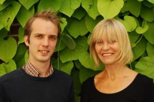 Catharina Svanborg och Petter Storm