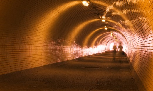 Ljus i slutet på tunnel