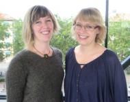 Yvonne Ceder och Olivia Larne