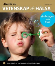 Aktuellt om vetenskap hälsa_november 2011