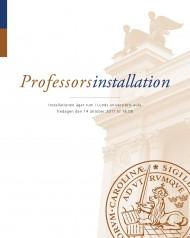 Professorsinstallationsbroschyr hösten 2011