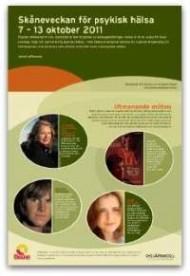 framsida program Skånevecka om psykisk hälsa