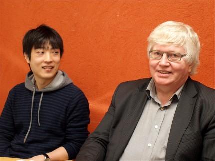 Kenichi Miharada och Stefan Karlsson