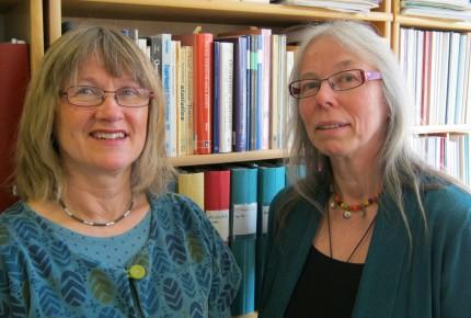 Mona Eklund och Lisbeth Nilsson
