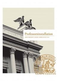 Professorsinstallation våren 2012