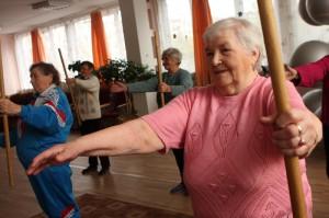 Äldre som tränar