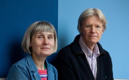 Siv Ahrné och Göran Molin