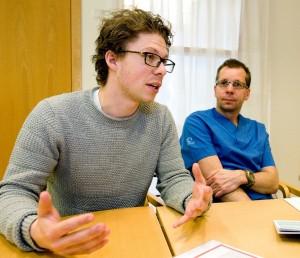 David Kylhammar och Göran Rådegran