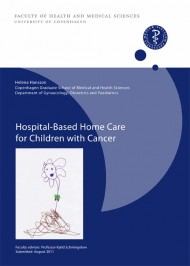 Avhandling om hemsjukvård för barn med cancer