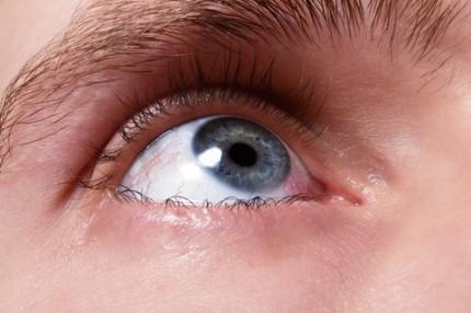 sår i ögat