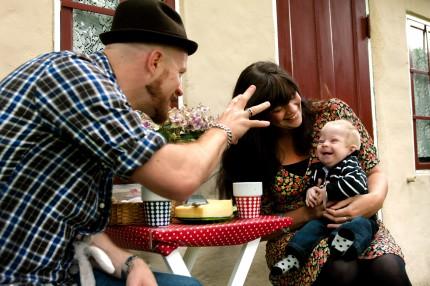 Elliot och hans föräldrar