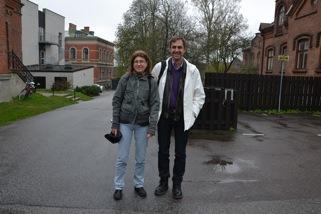 Susanne Lundin och Markus Idvall