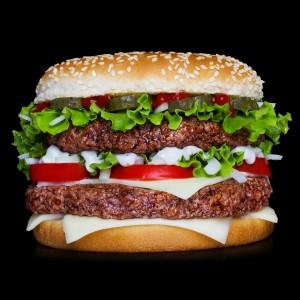 stor hamburgare