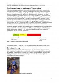 Träningsprogram IVAS