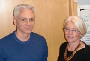 Johan Bengzon och Kristina Källén