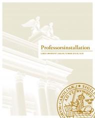 Professorsinstallationen 15 mars 2013