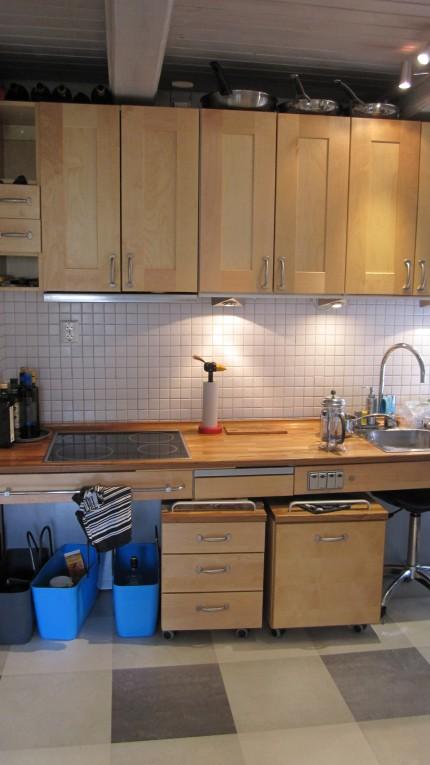Ett kök anpassat efter dagens riktlinjer