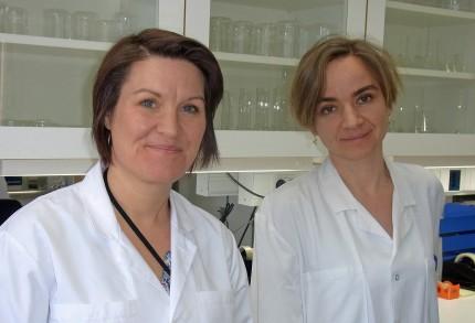 Malin Engfeldt och Cecilia Svedman