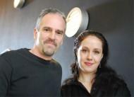 Fredrik Ghosh och Linnea Taylor