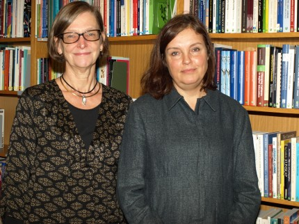 Gudrun Edgren och Pia Strand