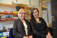 Karin Berger och Lovisa Heyman