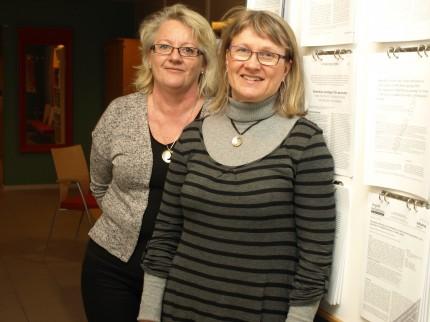 Christel Leufstadius och Mona Eklund