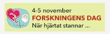 Forskningens dag 4-5 november 2014 - När hjärtat stannar