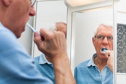 tandborstning