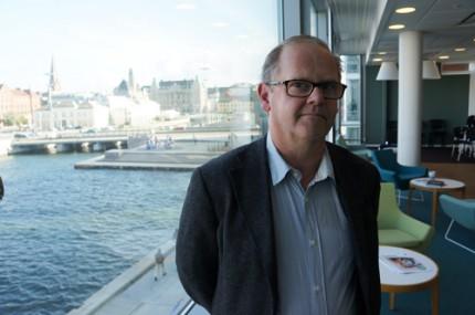 Finnur Magnússon, docent i socialt arbete, forskar inom ramen för flera av de områden som rör åldrandet och äldreomsorgen. Foto: Evelina Lindén