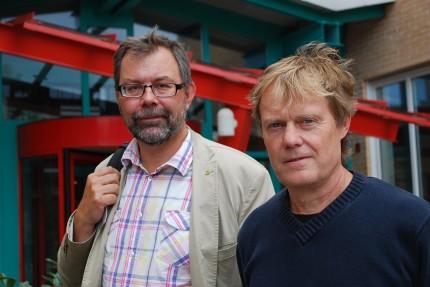 Niklas Loman och Åke Borg,