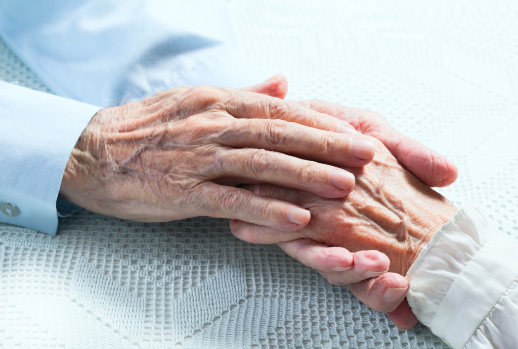 äldres händer