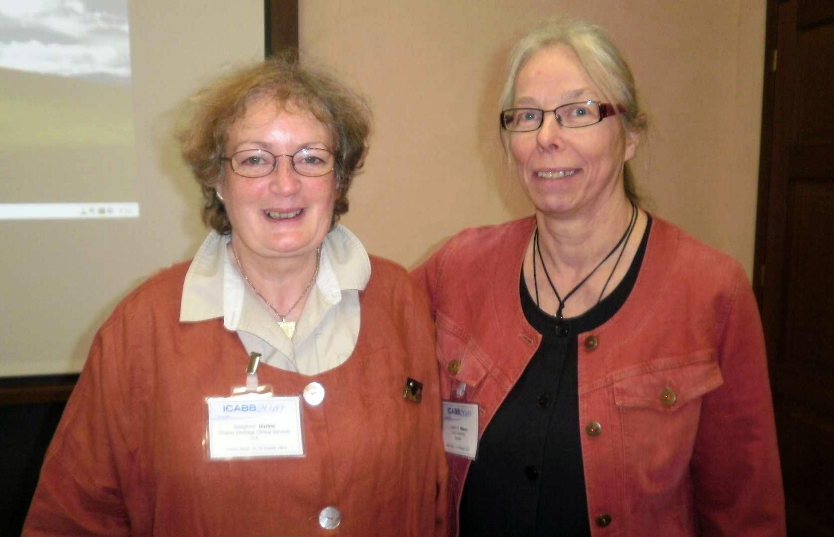 Josephine Durkin och Lisbeth Nilsson