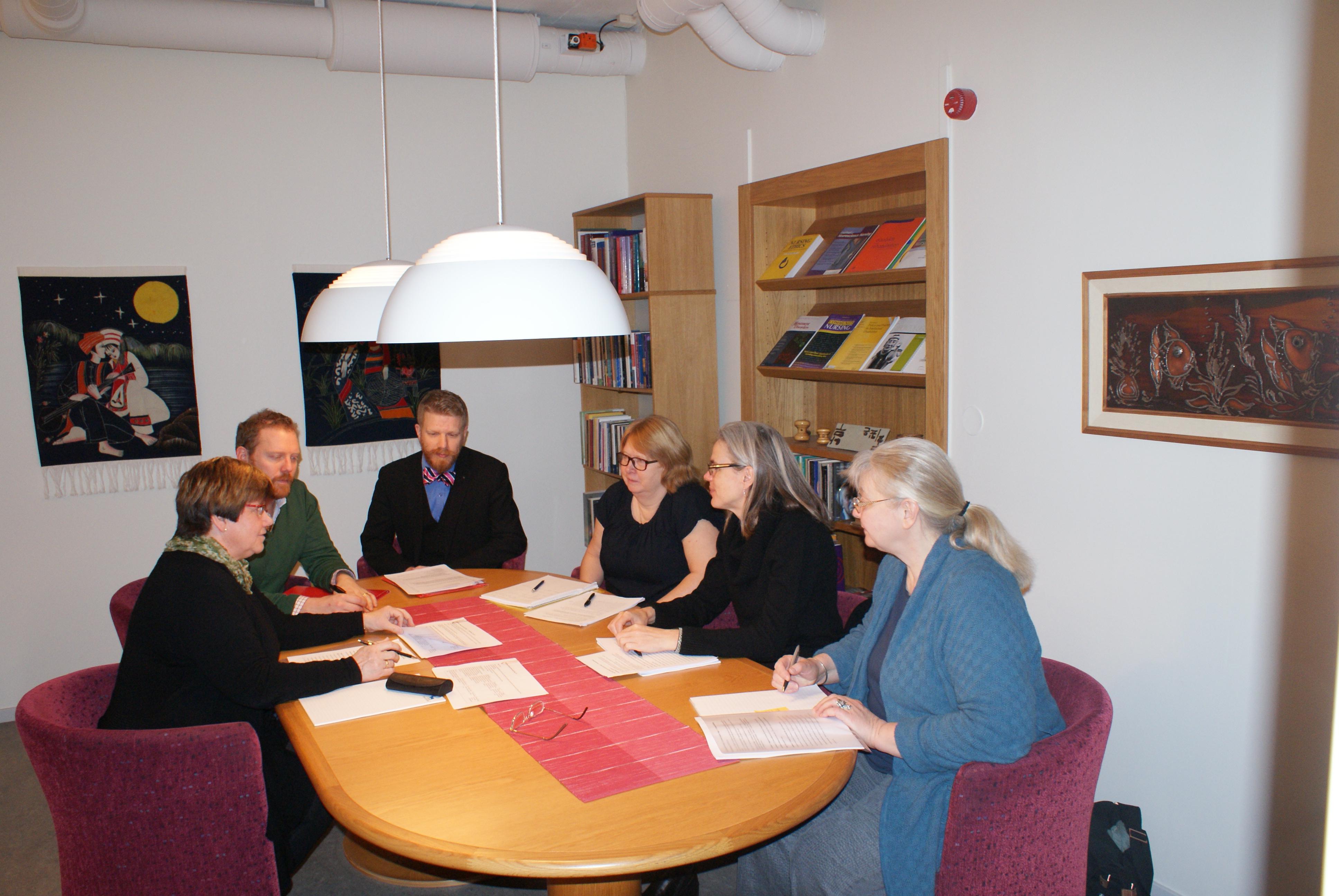 Projektgruppen Åldras med utvecklingsstörning