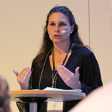 Maria Haak, docent vid CASE.