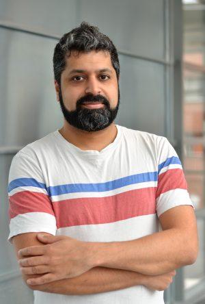 Bild på intervjupersonen, Shamit Soneji.