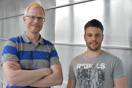 Bilden föreställer Tomas Deierborg och Antonio Boza-Serrano. Fotograf är Tove Smeds