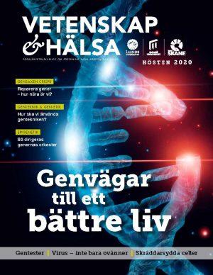 På bilden ses omslagsbilden till tidningen med temat Genvägar till ett bättre liv