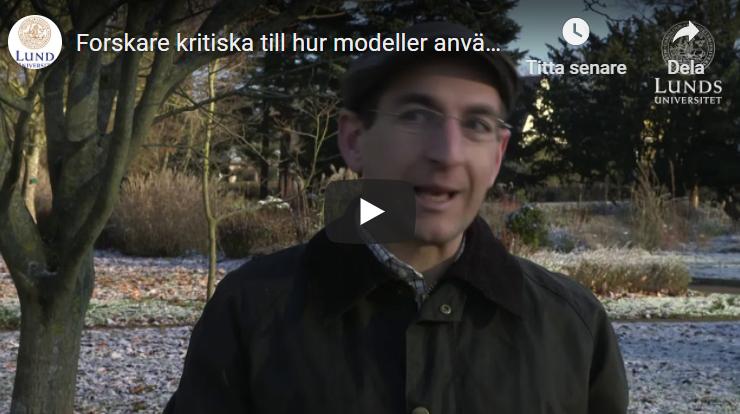 Forskare kritiska till hur modeller använts för att beräkna effekt av åtgärder mot corona