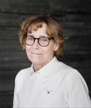 porträttbild av Gunnel Svensäter